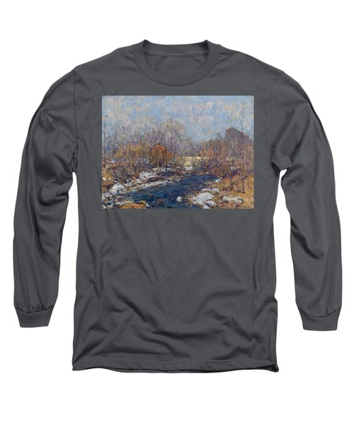 The Bridge  Garfield Park  By William J  Forsyth Long Sleeve T-Shirt