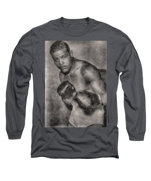 Long Sleeve T-Shirt featuring the photograph The Brown Bomber by Joseph Hollingsworth