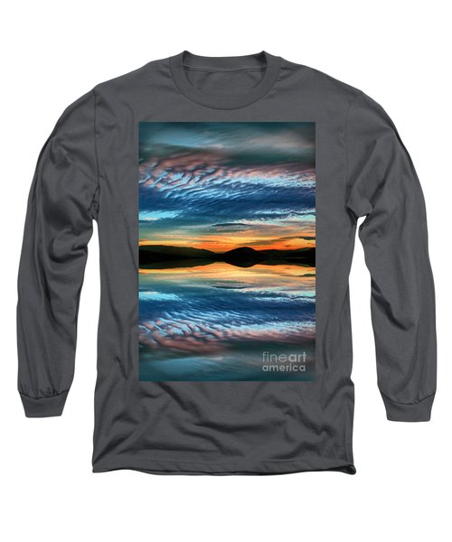 The Brush Strokes Of Evening Long Sleeve T-Shirt