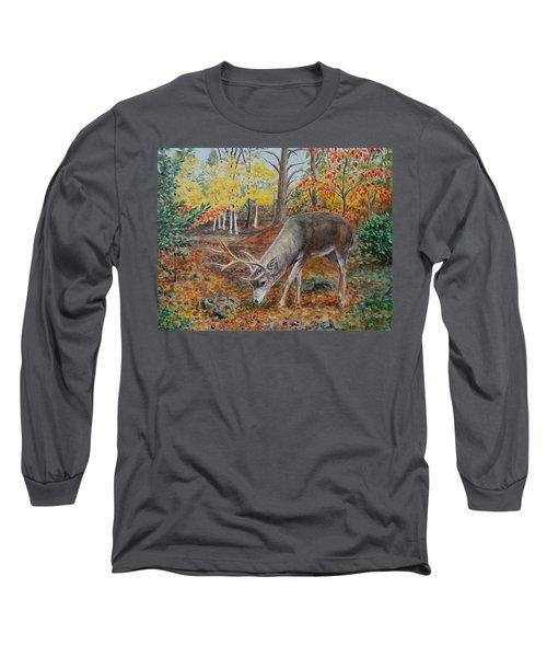 The Buck Stops Here Long Sleeve T-Shirt