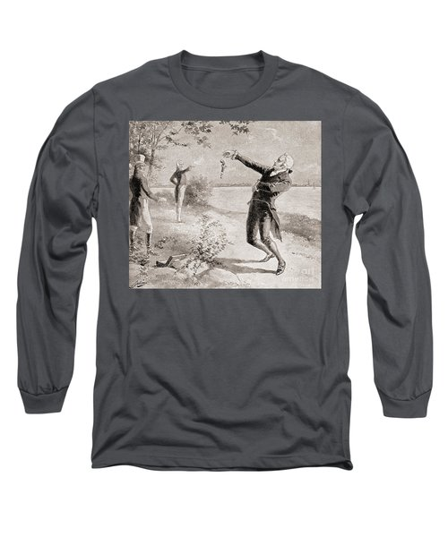 The Burr Hamilton Duel Long Sleeve T-Shirt