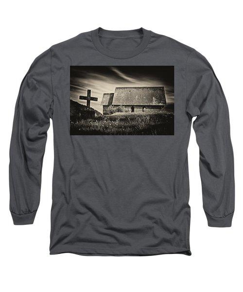 The Butter Church - 365-41 Long Sleeve T-Shirt by Inge Riis McDonald