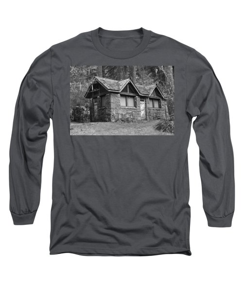 Long Sleeve T-Shirt featuring the photograph The Cabin by Angi Parks