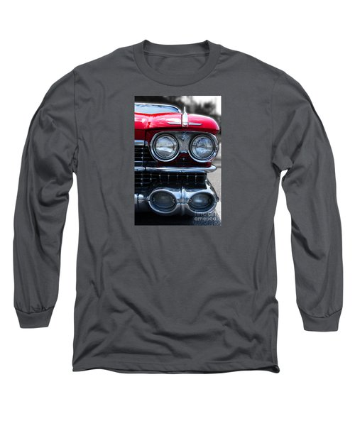 Long Sleeve T-Shirt featuring the photograph The Cadillac Way by Rebecca Davis