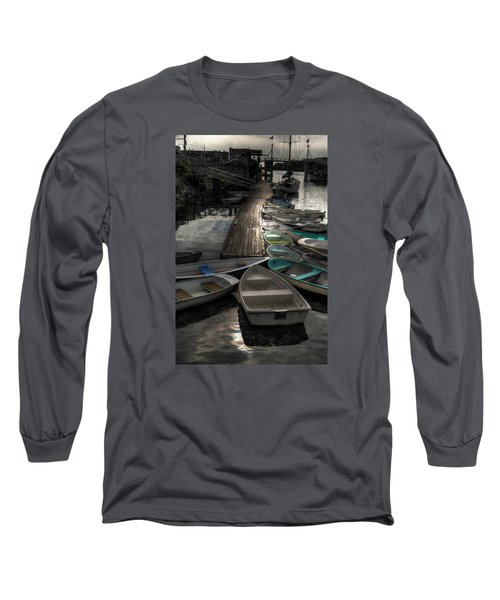 Long Sleeve T-Shirt featuring the photograph The Calm Before by Richard Ortolano
