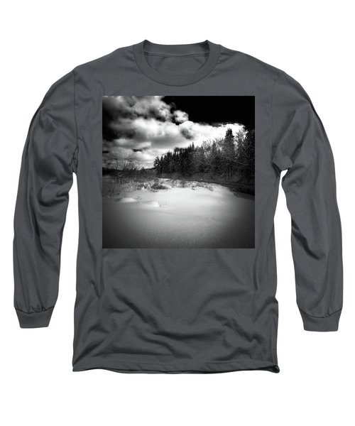 Long Sleeve T-Shirt featuring the photograph The Calm Of Winter by David Patterson
