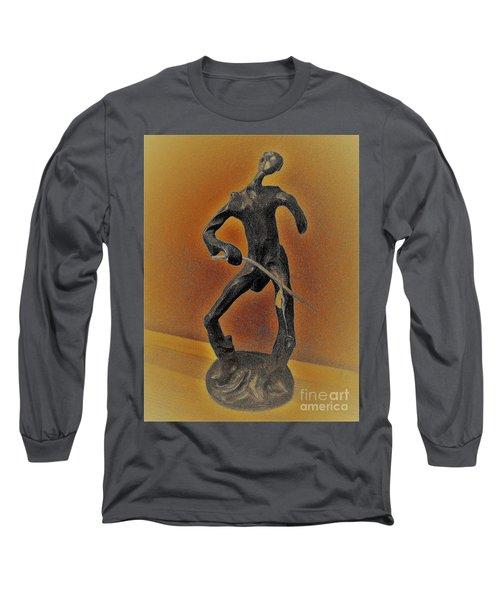 The Cane Man. Long Sleeve T-Shirt