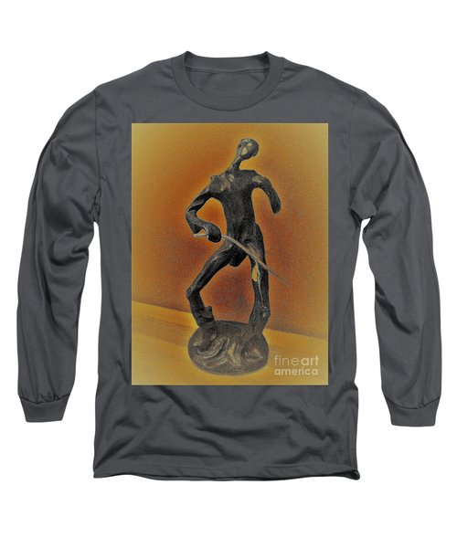 The Cane Man. Long Sleeve T-Shirt