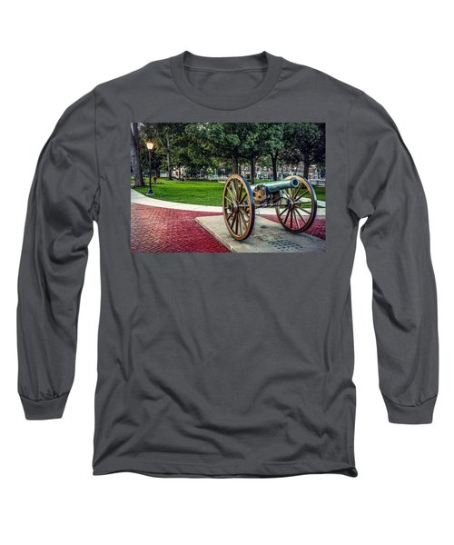 The Cannon In The Park Long Sleeve T-Shirt