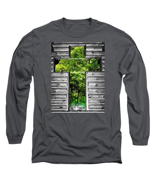 The Carpenters Cross Long Sleeve T-Shirt