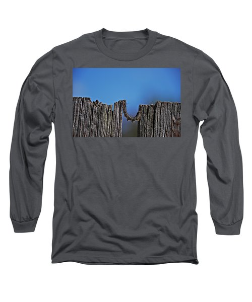 Long Sleeve T-Shirt featuring the photograph The Caterpillar by Cendrine Marrouat