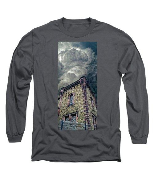 Long Sleeve T-Shirt featuring the photograph The Cell Block Restaurant by Greg Reed