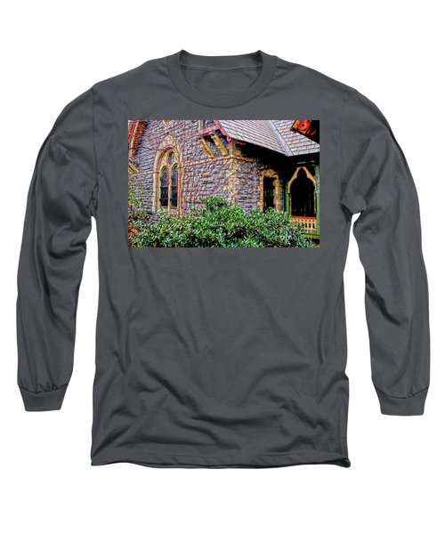 Long Sleeve T-Shirt featuring the photograph Central Park Dairy Cottage by Sandy Moulder
