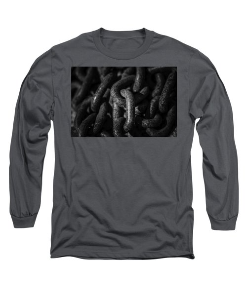 Long Sleeve T-Shirt featuring the photograph The Chains That Bind Us by Jason Moynihan