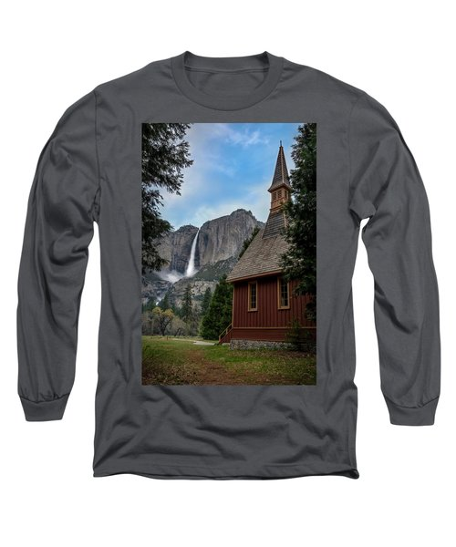 The Chapel Long Sleeve T-Shirt by Sean Foster