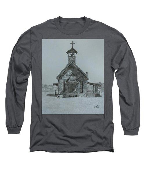 The Chapel  Long Sleeve T-Shirt by Tony Clark