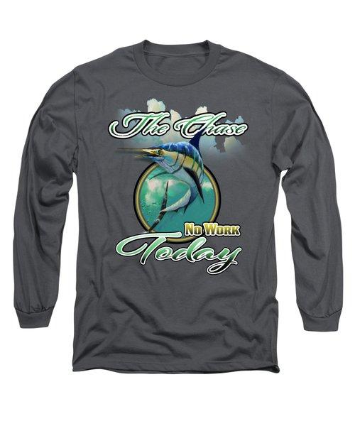 The Chase Logo Long Sleeve T-Shirt
