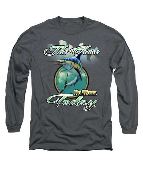 The Chase Logo Long Sleeve T-Shirt
