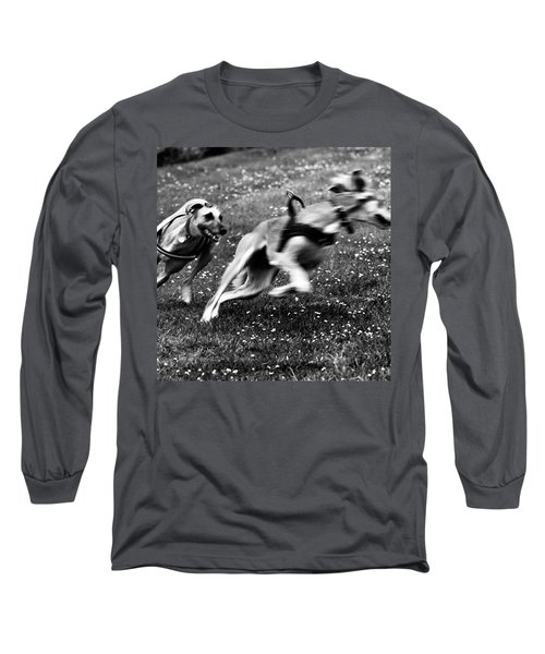 The Chasing Game. Ava Loves Being Long Sleeve T-Shirt