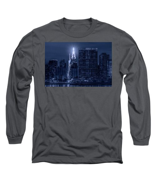 Long Sleeve T-Shirt featuring the photograph The Chrysler Star by Theodore Jones