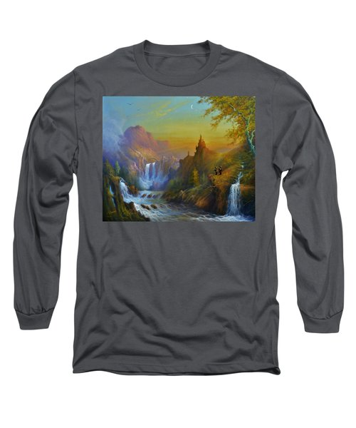 The Citadel Under The Moon Long Sleeve T-Shirt