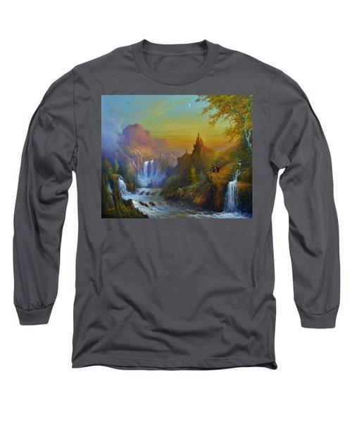 The Citadel Under The Moon Long Sleeve T-Shirt