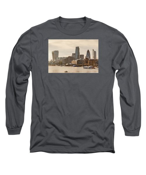 The City At Dusk Long Sleeve T-Shirt