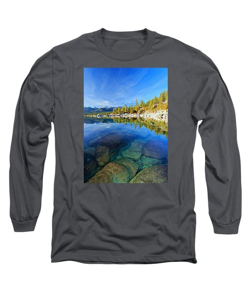 The Clarity Of Lake Tahoe Long Sleeve T-Shirt