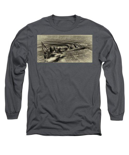 The Classic 1958 Chris Craft Long Sleeve T-Shirt