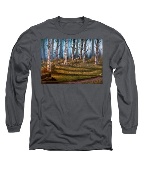 The Clearing Long Sleeve T-Shirt by Sheri Keith