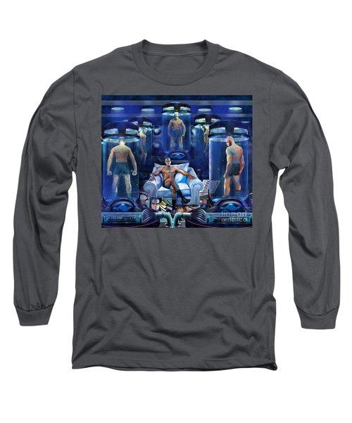 The Cloning The X Factor The Resurrection Of Malik El Shabazz Long Sleeve T-Shirt