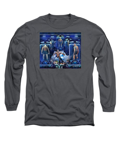 The Cloning The X Factor The Resurrection Of Malik El Shabazz Long Sleeve T-Shirt