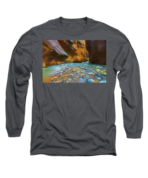 The Color Of Water Long Sleeve T-Shirt
