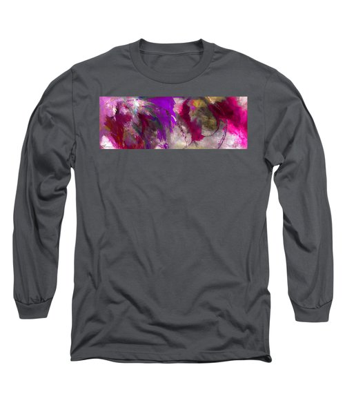 The Colorful Bustier Painting Long Sleeve T-Shirt by Lisa Kaiser