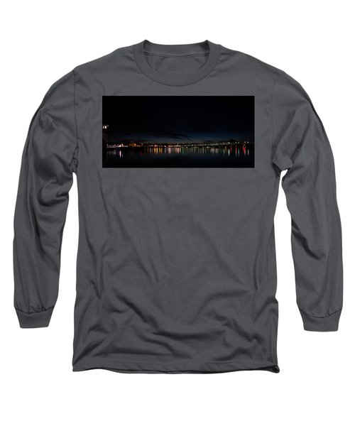 The Colors Of A Nightly Bridge Long Sleeve T-Shirt