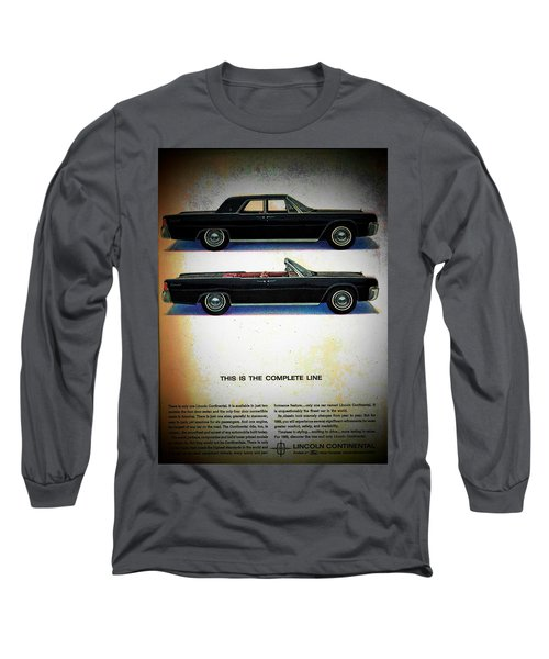 The Complete Line Long Sleeve T-Shirt by John Schneider