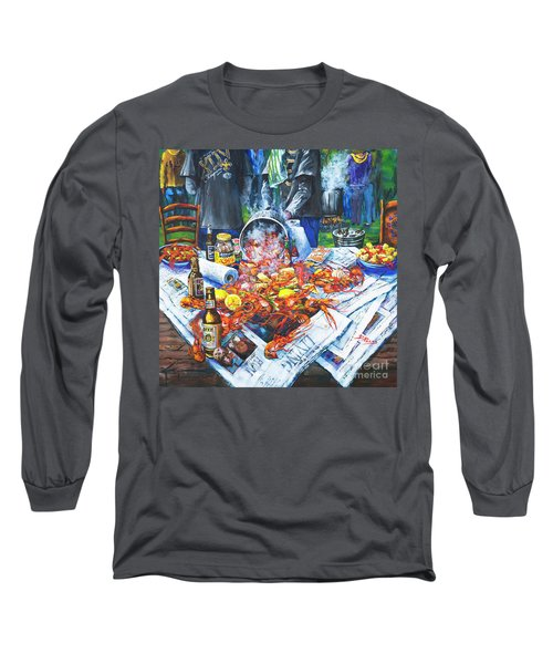 The Crawfish Boil Long Sleeve T-Shirt