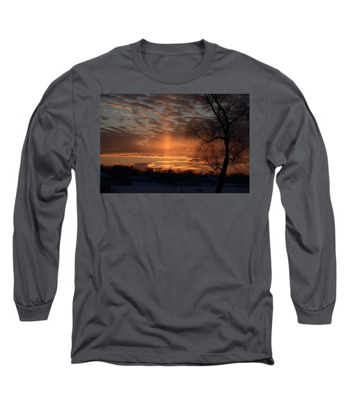 The Cross In The Sunset Long Sleeve T-Shirt
