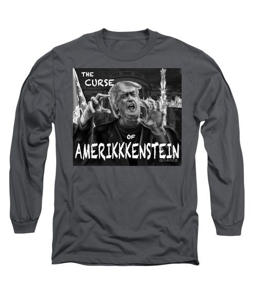 The Curse Of Amerikkenstein Long Sleeve T-Shirt