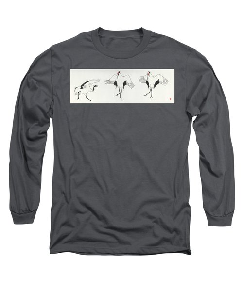 The Curtsy Lesson Long Sleeve T-Shirt by Stephanie Grant
