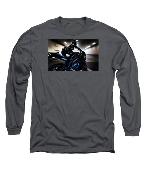 The Dark Knight Long Sleeve T-Shirt by Lawrence Christopher