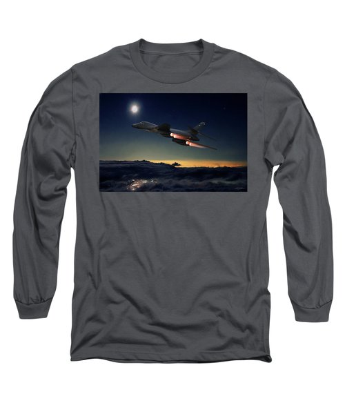 The Dark Knight Long Sleeve T-Shirt by Peter Chilelli