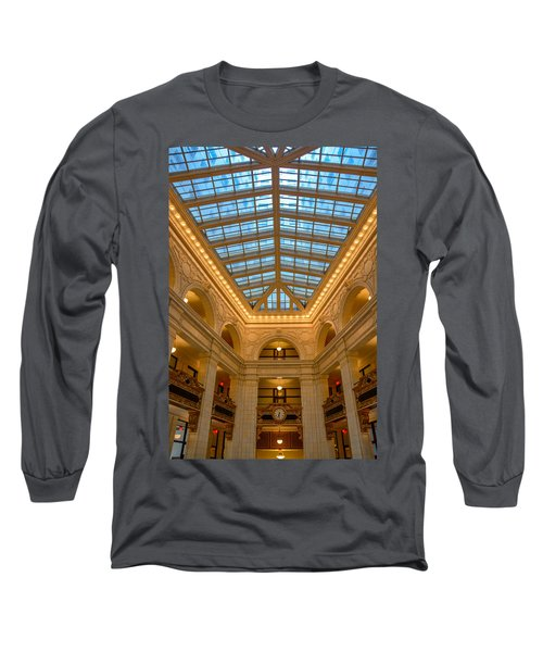The David Whitney Building Long Sleeve T-Shirt