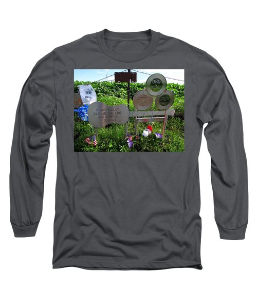 The Day The Music Died Long Sleeve T-Shirt by Keith Stokes