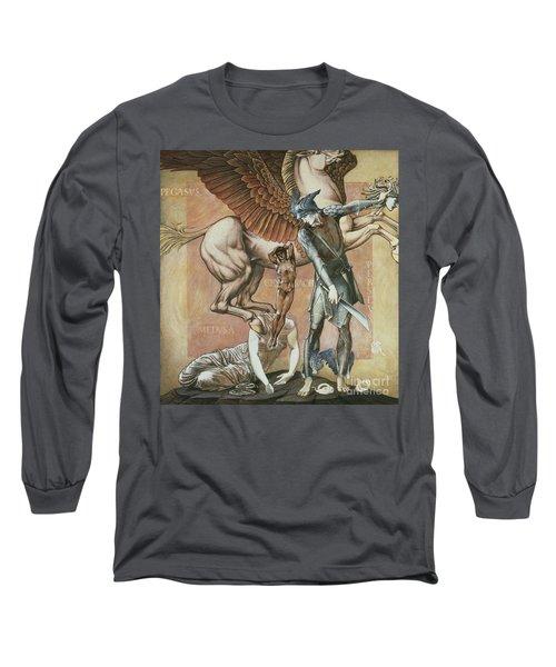 The Death Of Medusa I Long Sleeve T-Shirt