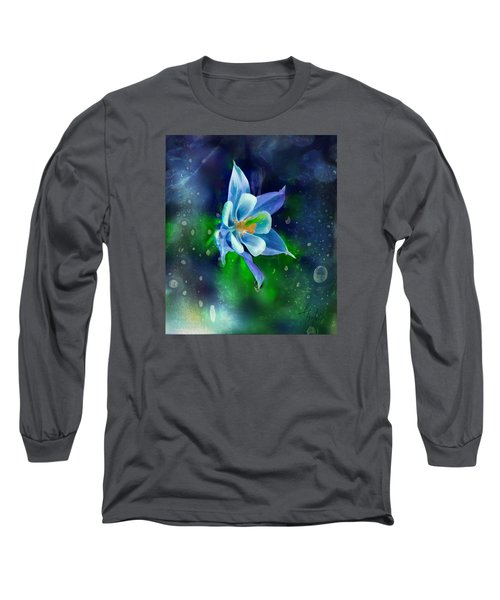 The Deep Blue Long Sleeve T-Shirt by Colleen Taylor
