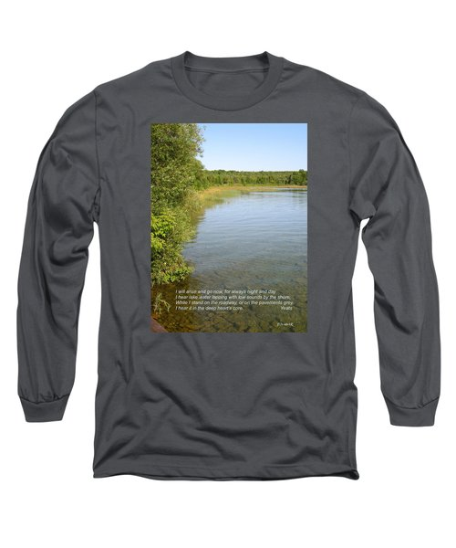 The Deep Heart's Core Long Sleeve T-Shirt by Deborah Dendler