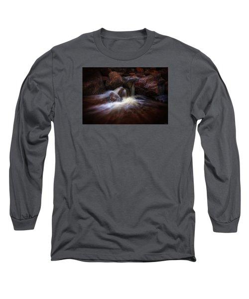 The Desert Drinks Long Sleeve T-Shirt by Rick Furmanek