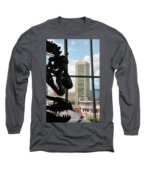 The Dinosaurs That Ate Baltimore Long Sleeve T-Shirt