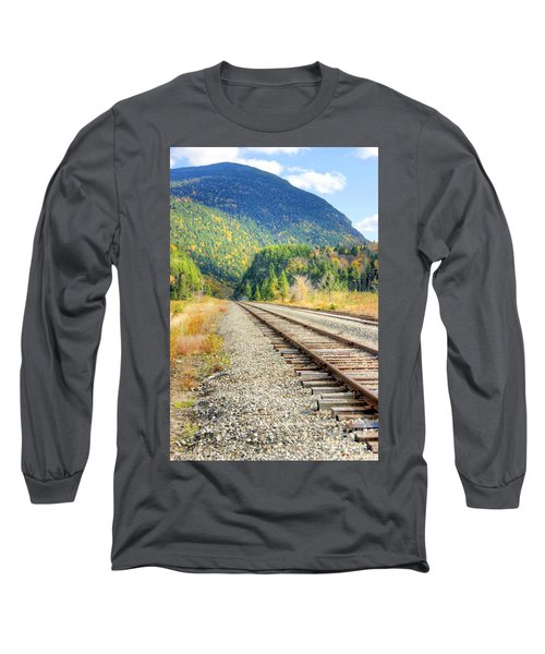 The Disappearing Railroad Long Sleeve T-Shirt